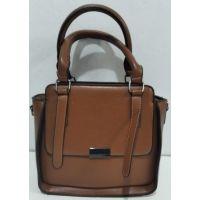 Женская небольшая сумочка (рыжая) 20-01-007