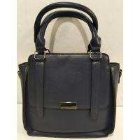 Женская небольшая сумочка (синяя) 20-01-007