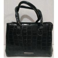 Женская классическая сумка (чёрная) 20-01-008