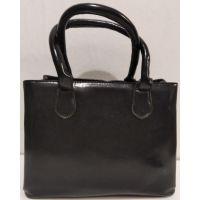 Женская классическая сумка (чёрная) 20-01-009