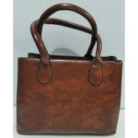 Женская классическая сумка (коричневая) 20-01-009