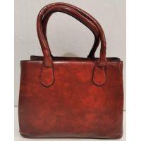 Женская классическая сумка (тёмно-красная) 20-01-009
