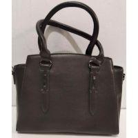 Женская классическая сумка (шоколадная) 20-01-011