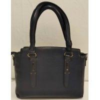 Женская классическая сумка (синяя) 20-01-011