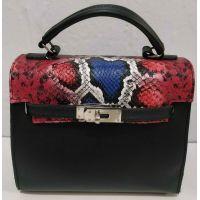 Женская сумка с вставками   20-01-061