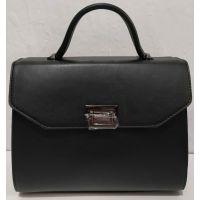 Женская сумка в деловом стиле (чёрная) 20-01-062