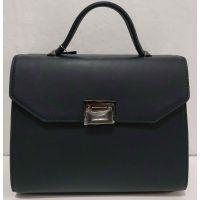 Женская сумка в деловом стиле (синяя) 20-01-062