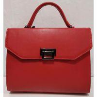 Женская сумка в деловом стиле (красная) 20-01-062