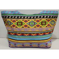Женская пляжная сумка (фиолетовая) 20-01-075