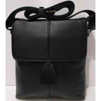 Мужская кожаная сумка Bretton (чёрная) 20-10-077