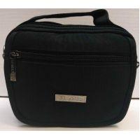 Мужская тканевая сумка  (чёрная) 20-12-084