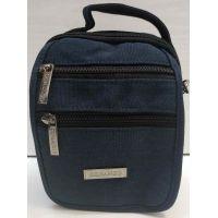 Мужская тканевая сумка  (синяя) 20-12-085