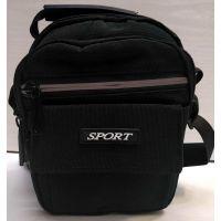 Мужская тканевая сумка  (чёрная) 20-12-086