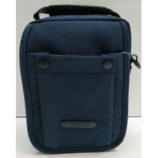 Мужская тканевая сумка  (синяя) 21-04-070