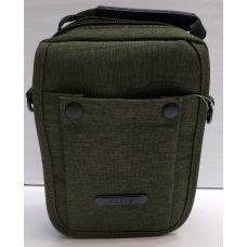 Мужская тканевая сумка  (хаки) 21-04-070