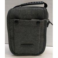 Мужская тканевая сумка  (серая) 21-04-070