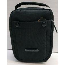 Мужская тканевая сумка  (чёрная) 21-04-070