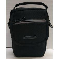 Мужская тканевая сумка  (чёрная) 21-04-071