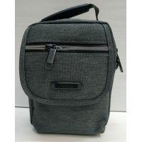 Мужская тканевая сумка  (серая) 21-04-071