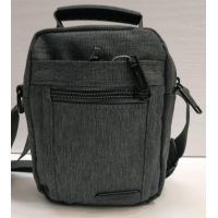 Мужская тканевая сумка  (серая) 21-04-072