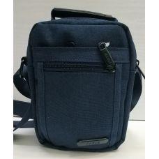 Мужская тканевая сумка  (синяя) 21-04-072