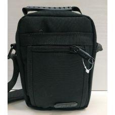 Мужская тканевая сумка  (чёрная) 21-04-072