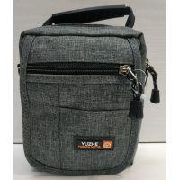 Мужская тканевая сумка  (серая) 21-04-073