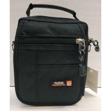 Мужская тканевая сумка  (чёрная) 21-04-073