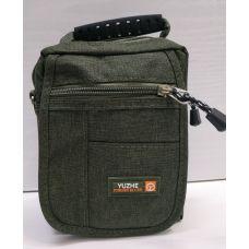 Мужская тканевая сумка  (хаки) 21-04-073