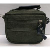 Мужская тканевая сумка  (хаки) 21-04-074