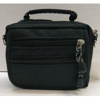Мужская тканевая сумка  (чёрная) 21-04-074