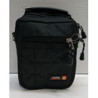 Мужская тканевая сумка  (чёрная) 21-04-075