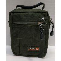 Мужская тканевая сумка  (хаки) 21-04-075