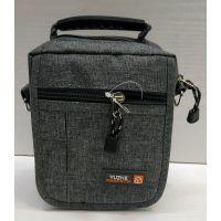Мужская тканевая сумка  (серая) 21-04-075
