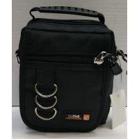 Мужская тканевая сумка  (чёрная) 21-04-076