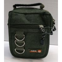 Мужская тканевая сумка  (хаки) 21-04-076