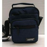 Мужская тканевая  сумка Lanpad  (синяя) 21-05-026