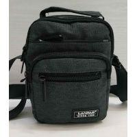 Мужская тканевая  сумка Lanpad  (серая) 21-05-026