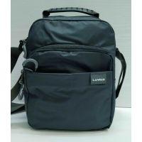 Мужская тканевая  сумка Lanpad  (серая) 21-05-028