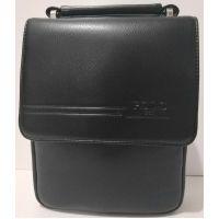 Мужская сумка Polo (чёрная) 19-05-153