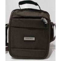 Мужская сумка Gorangd (коричневая) 20-07-005