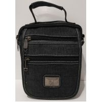 Мужская сумка Gorangd (чёрная) 20-07-006