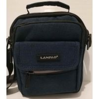 Мужская тканевая  сумка Lanpad  (синяя) 20-07-052
