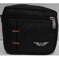Мужская  тканевая сумка (чёрная)  18-06-056
