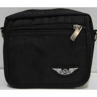 Мужская  тканевая сумка (чёрная)  18-06-057