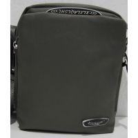 Мужская тканевая сумка (серая) 18-06-114