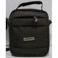 Мужская тканевая сумка Garangd  (коричневая) 18-09-145