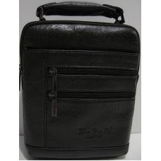 Мужская кожаная сумка (тёмно-коричневая) 19-03-017