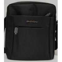 Мужская тканевая сумка  (чёрная) 19-08-095