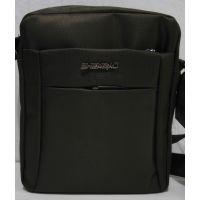 Мужская тканевая сумка  (коричневая) 19-08-095
